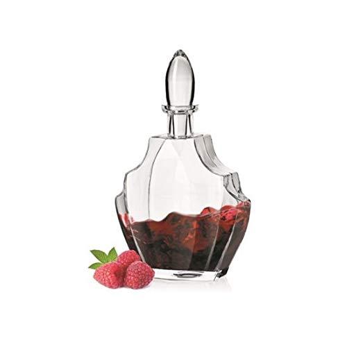 Krosno glazen decanter/karaf voor likeur Handgemaakte 700 ml