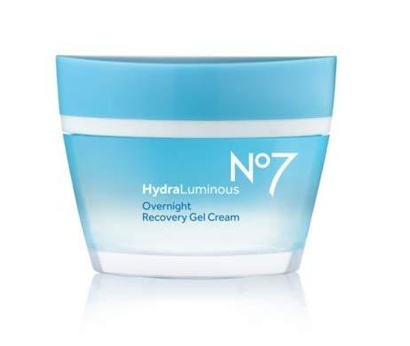 No7 Hydraluminous Overnight Recovery Gel Cream