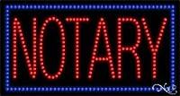 公証人LEDサイン( High Impact、エネルギー効率的な)