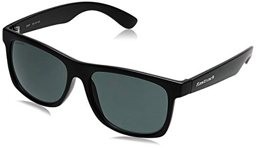 Fastrack UV Protected Wayfarer Men's Sunglasses - (P425GR4|56|Green Color Lens)