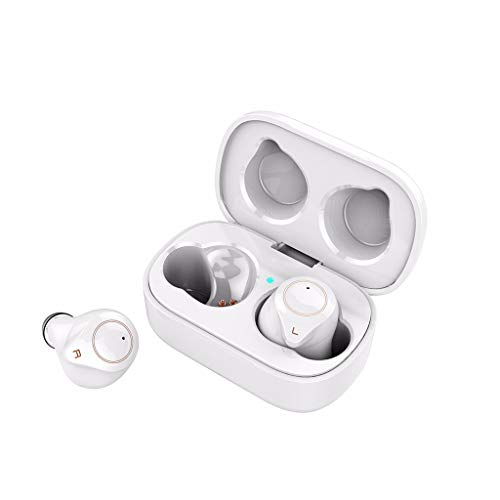 Buy Chercherr Sport Bluetooth Earphone, Bluetooth 5.0 TWS Mini True Wireless Headset with Mic Waterp...