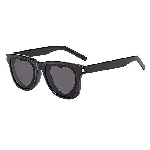 Dorical Sonnenbrillen Für Herren und Damen Unisex Mehrfarbig Fashion Vintage Sonnenbrille/Frauen Männer Love Herz Gestalten Sonnenbrille Brillen Retro Günstig Kauf Online