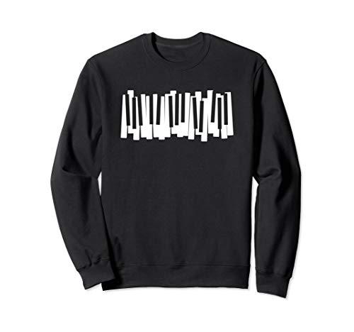 Piano Tastatur Klavier Tasten Spielen Pianist Musik Sweatshirt