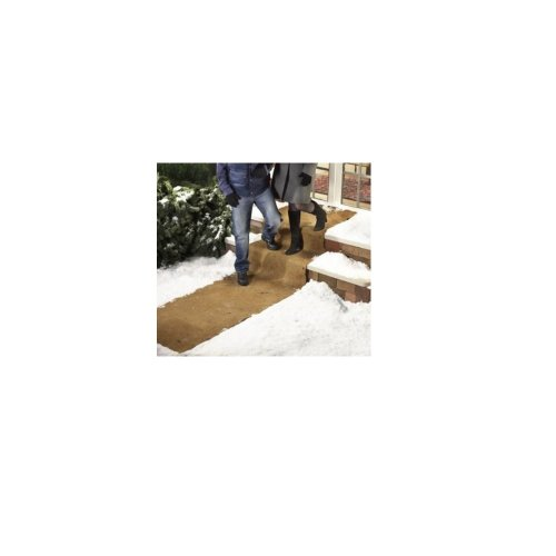 EXTRA WIDE NO SLIP ICE AND SNOW CARPET - 10 FEET LONG X 30 INCHES WIDE (SET OF 2) BY JUMBL