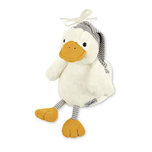 Sterntaler Chilling Box Ente Edda, Digitale Spieluhr, Inkl. Bluetooth-Lautsprecher und USB-Kabel, Alter: Babys ab der Geburt, 20x15x12 cm, Beige
