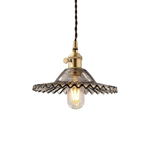 CHNOI Araña de Luces - Mini lámpara Colgante de Vidrio, for Isla de Cocina, restaurantes, hoteles y Tiendas (Color : D)