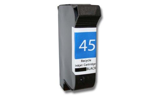 vhbw Cartucho de Recambio Compatible Negro para impresoras HP, fax 1220, 1220XI