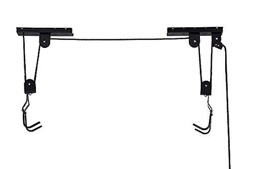 VDP Fahrradlift Fahrradaufhängung Fahrradaufzug Halterung Seilzug bis 20kg - 2