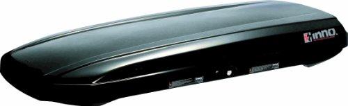 INNO BRA1150BK Shadow 15 Low Profile Cargo Box - 11 Cubic FT (Gloss Black)