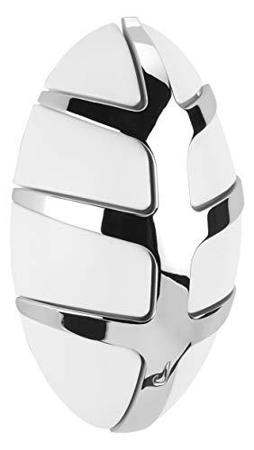 Spinder Design Bug Garderobe mit Metallhaken - 15x9x4.5 cm - 7 haken - Weiß