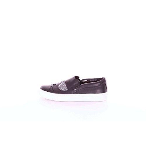 Karl Lagerfeld Kupsole Choupette Toe Slip Femme Baskets Mode Noir
