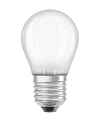 Osram LED Retrofit Classic P Lampe, Sockel: E27, Warm White, 2700 K, 1, 40 W, Ersatz für 15-W-Glühbirne, klar