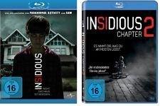 Insidious + Insidious: Chapter 2 [Blu-ray] im Set - Deutsche Originalware [2 Blu-rays]