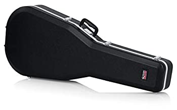 Gator Cases Deluxe ABS Molded Case for 12-String Acoustic Guitars  Fits Dreadnought Styled 12-String Acoustic Guitars  GC-DREAD-12