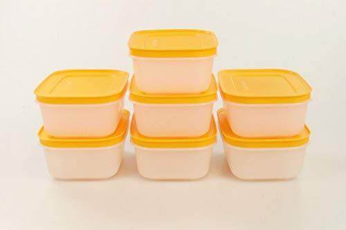 Tupperware Contenitore Pinguino da 450 ml Bianco Arancione (7) 34475
