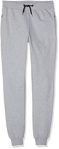 FM London Hyfresh Slim Fit, Pantalones deportivos Hombre, Gris (Grey 15), Large