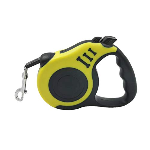 N\C Dog Leash Durable Automatic Retractable Nylon Cat Lead Extension Puppy Walking Running Roulette Training