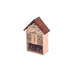 Oypla Wooden Stick Bee Wildlife Insect Hotel House Garden Nest Shelter Box Habitat
