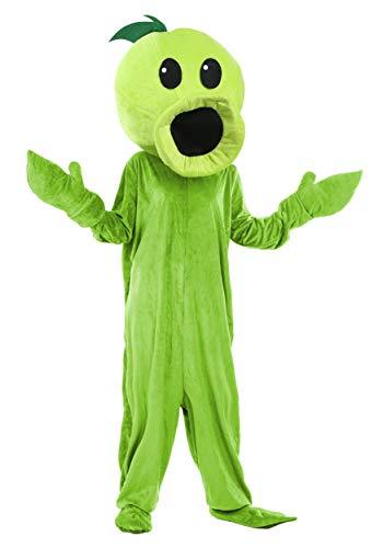 Erwachsene Pflanzen gegen Zombies Peashooter Kostüm - ST