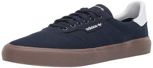adidas Originals - Zapatillas de Deporte Unisex para Adultos, 3 MC, Color Negro/Blanco, Talla 45 EU, Otoño-Invierno, Color Collegiate Navy/White/Gum, tamaño 34 EU