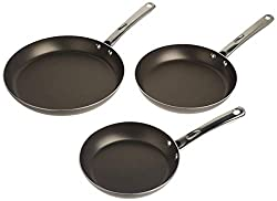 Best nonstick cooking skillet fry pan set for high heat