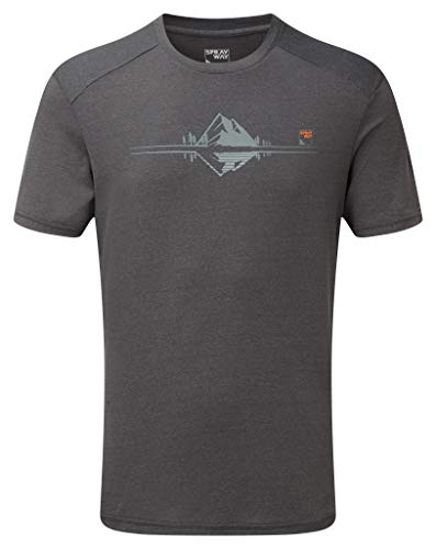 Sprayway Reflection Tee T-Shirt, Farbe 01319 Slate, Groesse-Sprayway:S