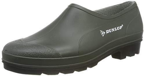 Dunlop Protective Footwear Bicolour Gummischuh, Grün/Schwarz, 44 B350611 1.1 x 7.5 cm