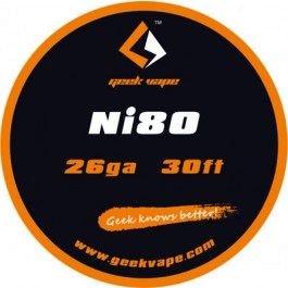 Filo Resistivo GeekVape Ni80 (26GA) 10m