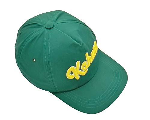 Kahuna Store - Berretto da baseball 3D con imbottitura, colore verde scuro, unisex, taglia unica regolabile per proteggersi dal sole