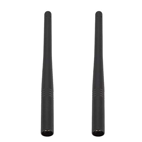 Eboxer 2Pcs Walkie Talkie Antena, 15.5cm VHF 136-174MHz SMA-M Antena de Walkie-Talkie para Yaesu/Vertex VX-110 / VX-130 / VX-131 / VX-132 / VX-150 / VX-151 / VX-152 Radio Walkie Talkie FT-60R