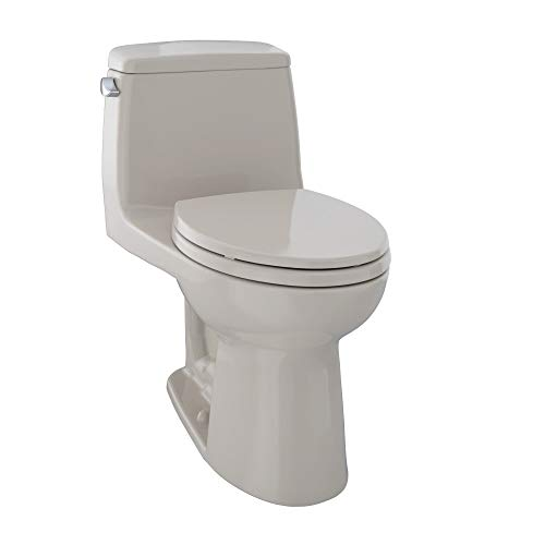 TOTO MS854114E#03 Eco Ultramax Elongated One Piece Toilet, Bone