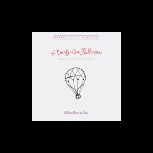 The Twenty-One Balloons cover art