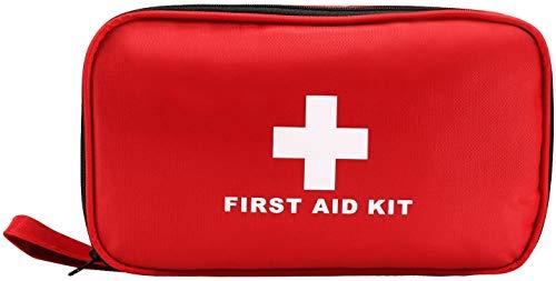 LEADSTAR Kit di Primo Soccorso Kit di Pronto Soccorso da 180 Pezzi Mini per Emergenza a Casa, Auto, All'aperto, Campeggio, Escursionismo e Viaggi (180 Pezzi)