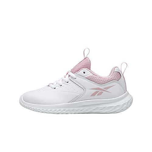 Reebok Rush Runner 4.0 Syn, Zapatillas de Running Mujer, FTWBLA/FTWBLA/PNKGLW, 37 EU