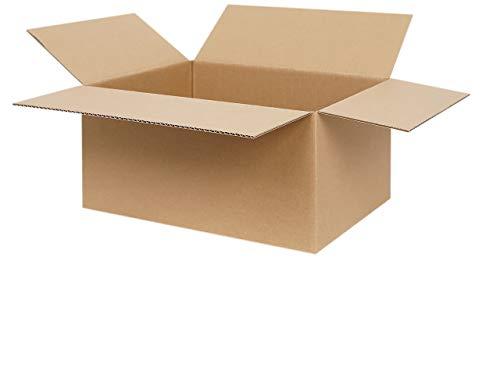 25 Faltkartons DIN A4 330 x 240 x 160 mm | Versandkarton geeignet für Versand mit DHL, DPD, GLS und Hermes | 25-1000 Kartons wählbar