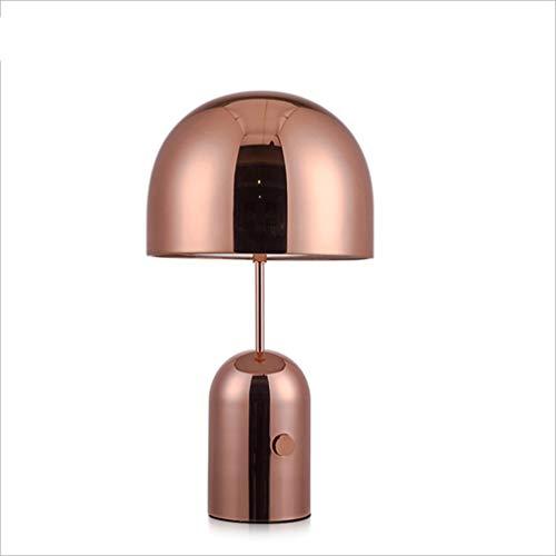 Rose Gouden Paddestoel Postmoderne Minimalistische Tafellamp, Scandinavisch Model Huis Villa Nachtkastje Kunst Tafellamp, Warm Tafellamp, Huis, Bar, Café, Hotel, Enz.