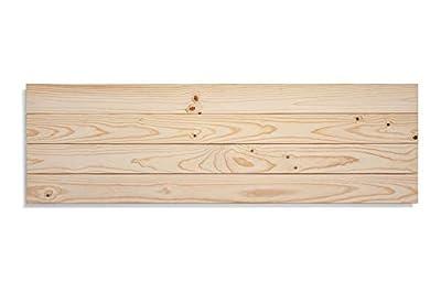 Cabeceros para Camas de madera natural de pino