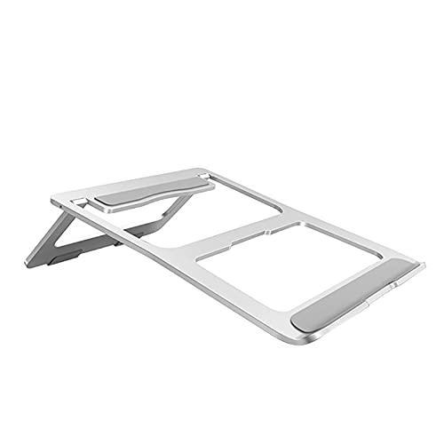 LHKK Soporte portátil Ajustable del Ordenador portátil, Tenedor Que refresca de Escritorio ventilado Plegable del Tenedor del Ordenador portátil de Escritorio