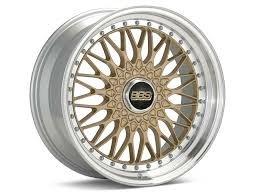 BBS Super RS 19x9x5x112 Gold Rim