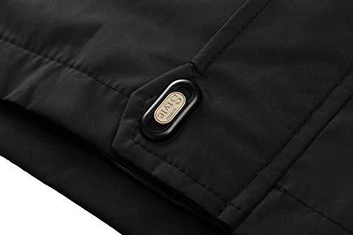 TACVASEN Women's Lightweight Waterproof Softshell Jacket Raincoat with Detachable Hood 4