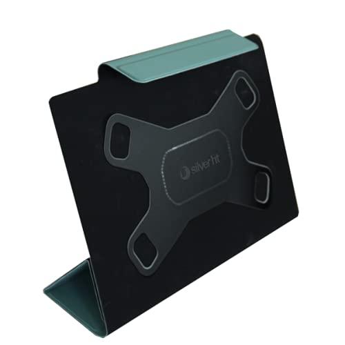 Silver HT - Funda Tablet Universal Slim Camera Pro de 9 a 11 Pulgadas, Green Forest.