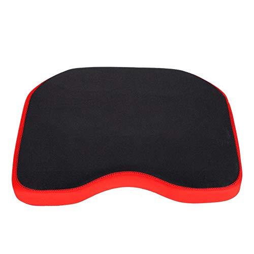 Memory Foam Boat Sitzkissen Baumwolle mit Saugnäpfen Weiche Bequeme Dauerhafte Sitzauflage(Schwarz)