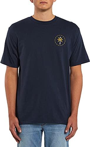 Volcom Men's Serenic Stone Short Sleeve Tee Navy