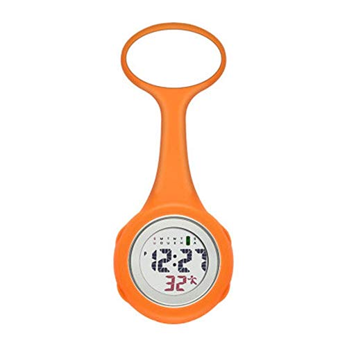 Enfermera Reloj de Bolsillo Reloj médico Luminoso Electrónico Digital Masculino y Femenino Enfermera Reloj de Bolsillo Reloj de Pared con Bolsillo reemplazable y Relojes de Bolsillo (Color: Azul,Ta