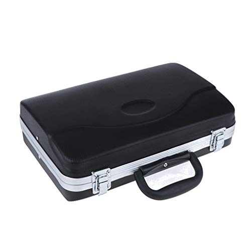 Hard Klarinettentasche Tragetasche Koffer Tasche, wasserdicht, Kunststoff Schale mit weicher Schaumstoffpolsterung für Klarinette