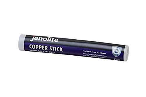 Jenolite Masilla epoxi de dos componentes para reparación de tuberías de cobre - 112g