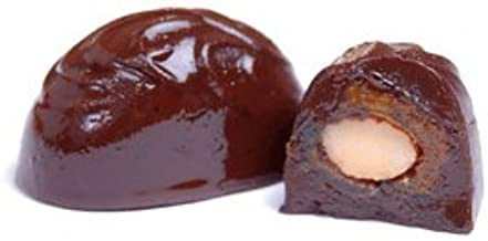 12pc Almond Stuffed Dates in Dark Chocolate
