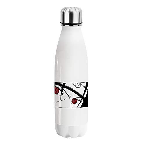 Naruto Itachi Japan Anime Character Water Bottle WB107 Stainless Steel Botella de Agua De Acero Divertida Thermos Funny Cute Reusable Bottles For Sports Outdoor Hiking Gym Flask 500ml
