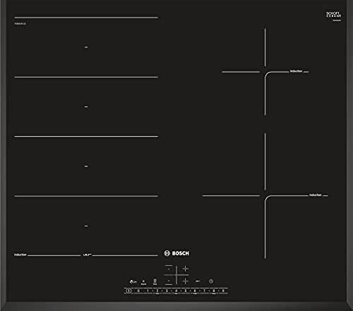 Bosch PXE651FC1E Piano Cottura Nero Incasso Induzione