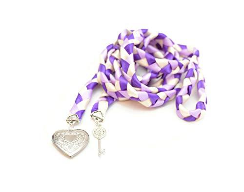 Divinity Braid Key to Love Wedding Hand Fasting/ Binding Cord, Purple